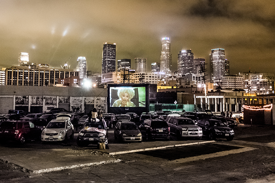 Electric Dusk Drive-In downtown los angeles