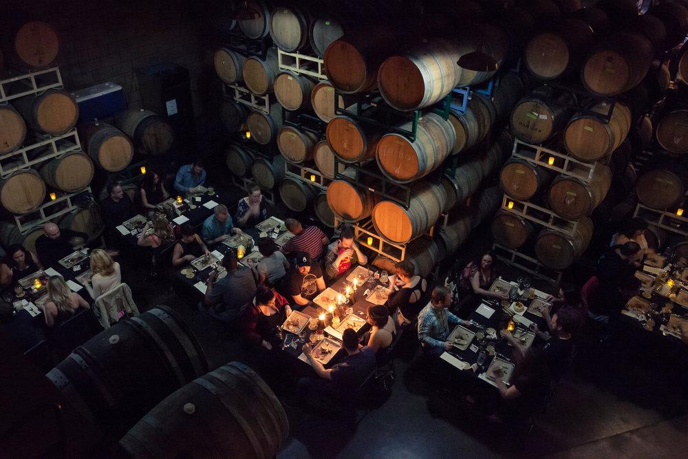brewery restaurant in los angeles Phantom Carriage Brewery and Blendery
