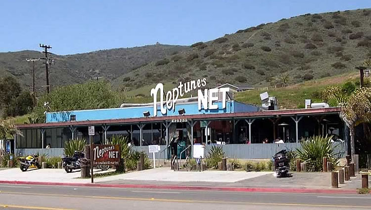 Neptune's Net is one of my favourite seafood restaurants in the Malibu