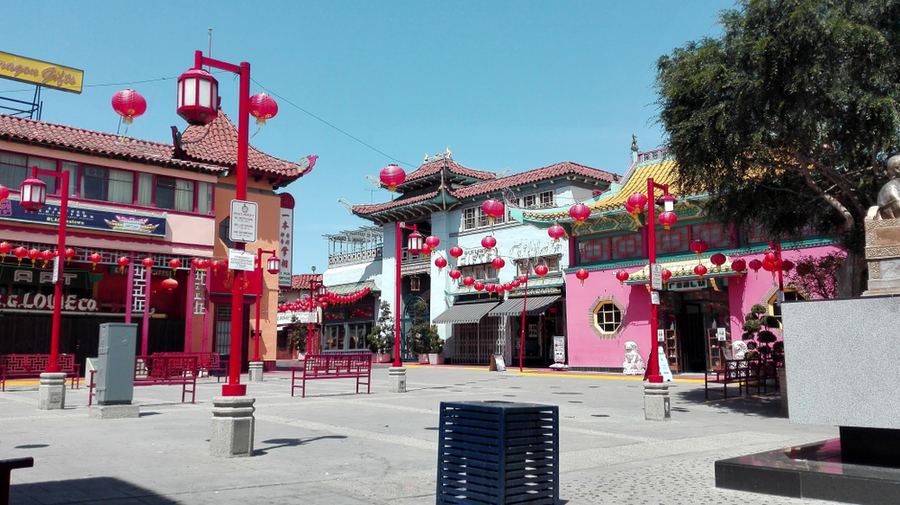 China Town Central Plaza los angeles