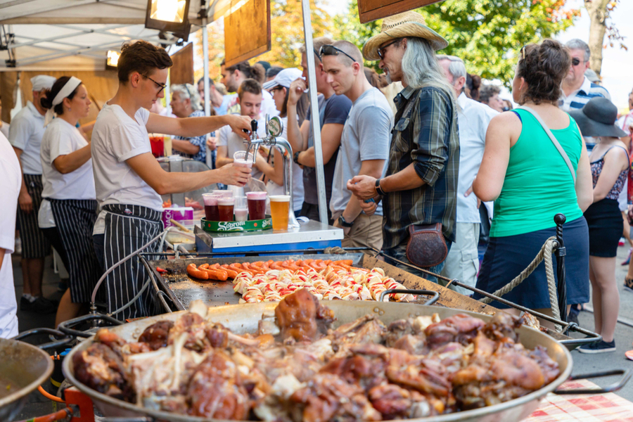 The BBQ and Beer Fair in los angeles