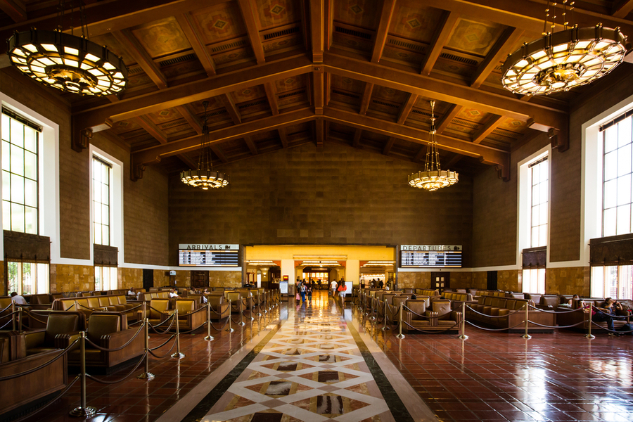 Union Station los angeles by chinatown