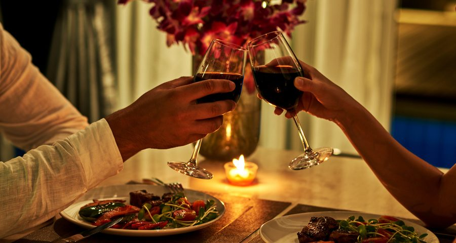 quiet date night in los angeles