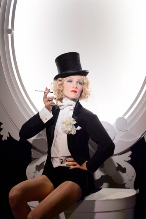 Marlene Dietrich, German actress and singer, Madame Tussauds
